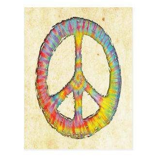 Tie-Dye Peace 713 Postcard