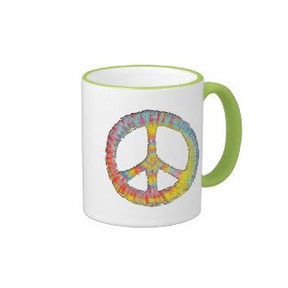 Tie-Dye Peace 713 Ringer Mug