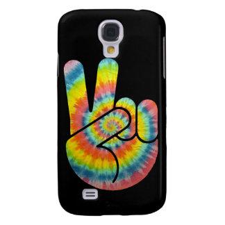 Tie Dye Peace Hand Samsung Galaxy S4 Cover