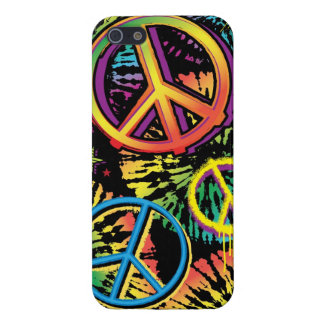 Tie Dye Peace Cover For iPhone 5