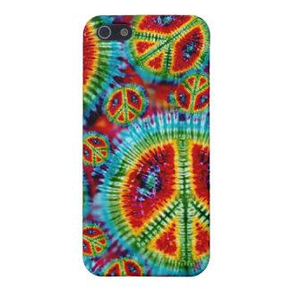 Tie Dye Peace Sign 4 4S  iPhone 5 Case