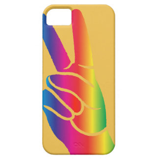 Tie-Dye Peace Sign iPhone 5 Cases