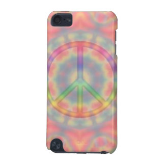 Tie Dye Peace Sign iPhone Case