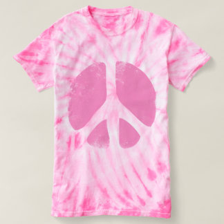 Tie Dye Peace Sign T-Shirt