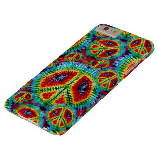 Tie Dye Peace Signs Barely There iPhone 6 Plus Case