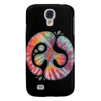 Tie-Dye Peace Spill Galaxy S4 Covers