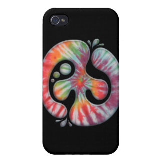 Tie-Dye Peace Spill iPhone 4 Covers