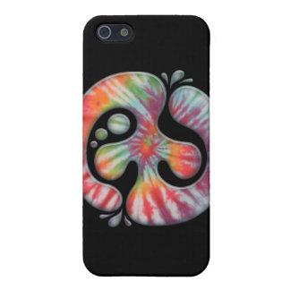 Tie-Dye Peace Spill iPhone 5 Case