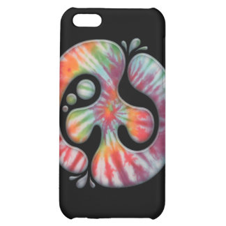 Tie-Dye Peace Spill iPhone 5C Cases