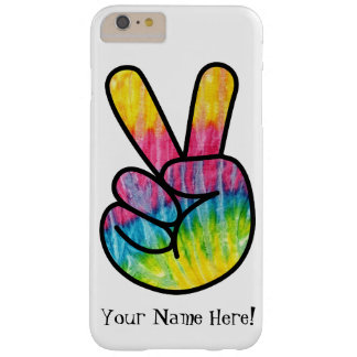 Tie-dye Peace Symbol Hand Art Phone Case