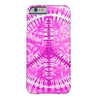Tie Dye Pink Peace iPhone 6 case Barely There Case Barely There iPhone 6 Case