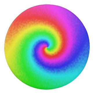 Tie-Dye Rainbow Swirl Eraser