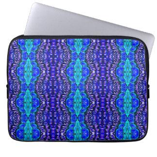 tie dye rug pattern psychedelic laptop sleeve
