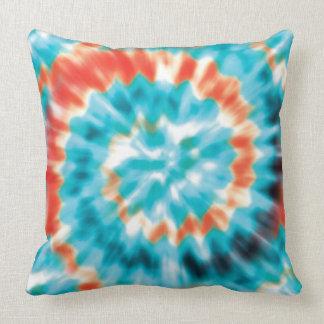 Tie dye Seafoam sherbet pillow