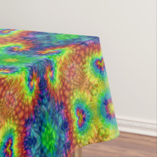 Tie Dye Sky 2 Tiled Cotton Tablecloth