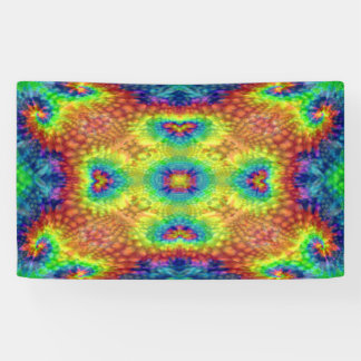 Tie Dye Sky  Banners, 4 sizes Banner