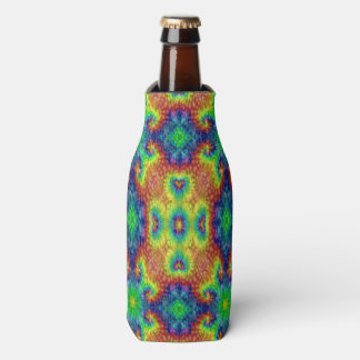 Tie Dye Sky Colorful Bottle Cooler