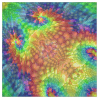 Tie Dye Sky Colorful Fabric