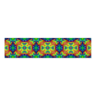 Tie Dye Sky Colorful Kaleidoscope Napkin Band