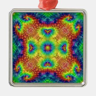 Tie Dye Sky Colorful   Vintage Ornaments