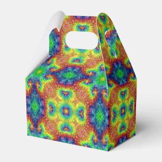 Tie Dye Sky Kaleidoscope  Gable Favor Box