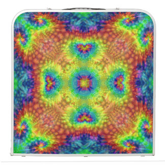 "Tie Dye Sky  Vintage Kaleidoscope   48"" Pong Table"