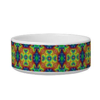 Tie Dye Sky Vintage    Kaleidoscope  Pet Dish