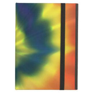 Tie-Dye Spiral - iPad Air Case with No Kickstand