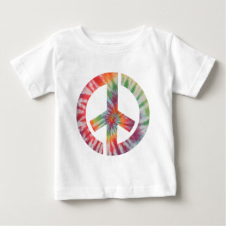 Tie-Dye Stencil Peace Tee Shirts