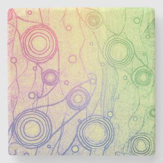 Tie Dye Stone Coaster