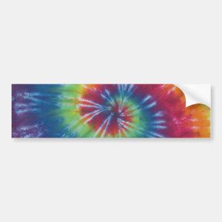 Tie Dye Swirl Sticker Bumper Sticker