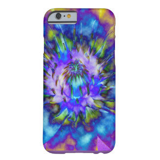 Tie Dye Water Lily Design Barely There iPhone 6 Case