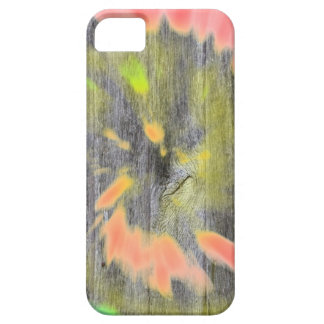 Tie dye watercolor paste hipster ikat pattern wood iPhone 5 cover