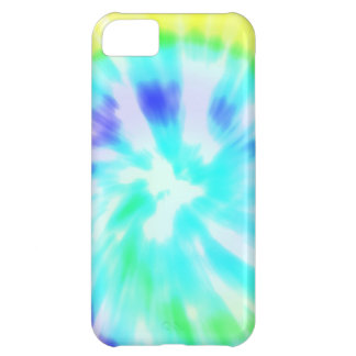Tie dye watercolor pastels hipster ikat pattern bl iPhone 5C case