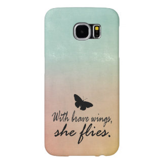 Tie Dye Watercolor with Quote Samsung Galaxy S6 Cases