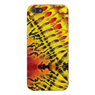 Tie Dye Yellow Red iPhone 5/5S Cover
