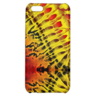 Tie Dye Yellow Red iPhone 5C Covers