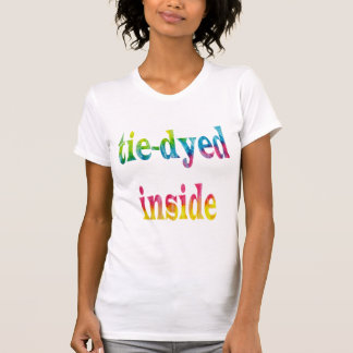 Tie-dyed inside T-Shirt
