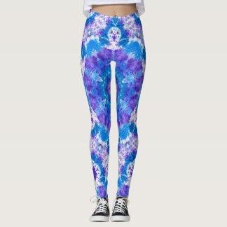 Tie-Dyed Style Kaleidoscope Painting Leggings