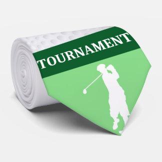 Tie: Golf Player Tie