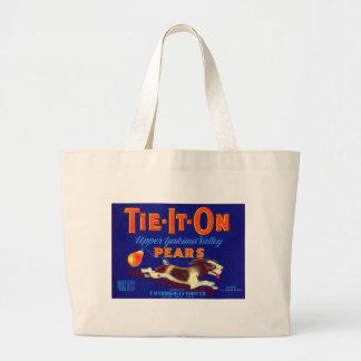 Tie-It-On Pears Bag