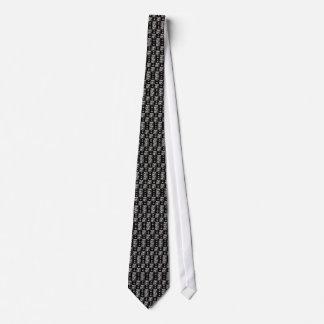 Tie Men's Check Masks