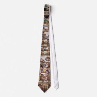 tie,Sistine Chapel,fresco Tie