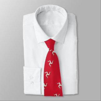 Tie with Isle of Man Flag, United Kingdom