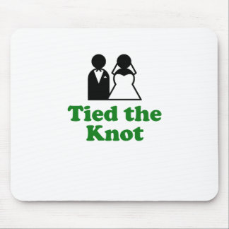Tied the Knot Mouse Pads