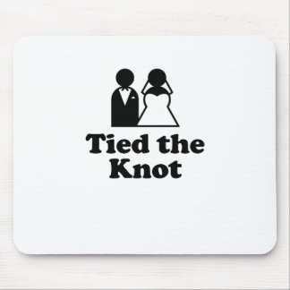 Tied the Knot Mousepad