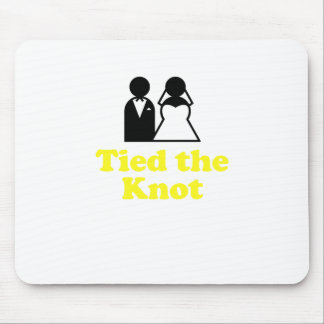 Tied the Knot Mousepads