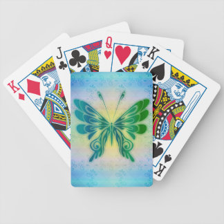 Tiedye Butterfly Playing Cards