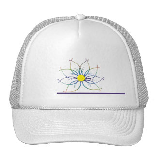 TieDye Daisy Hat