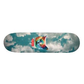TieDye SHRKCT CLOUDS Skateboard